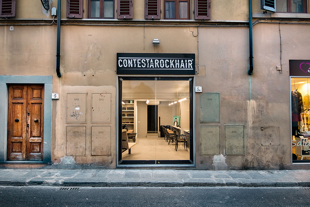 salone parrucchiere Firenze Borgo ingresso