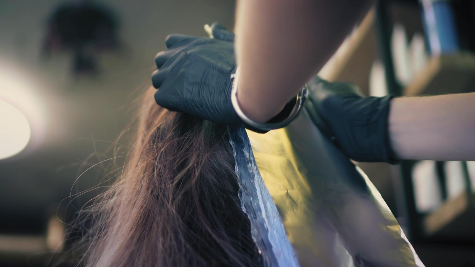 tinta capelli con cartina
