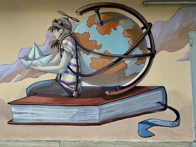murales di Alessandra Carloni