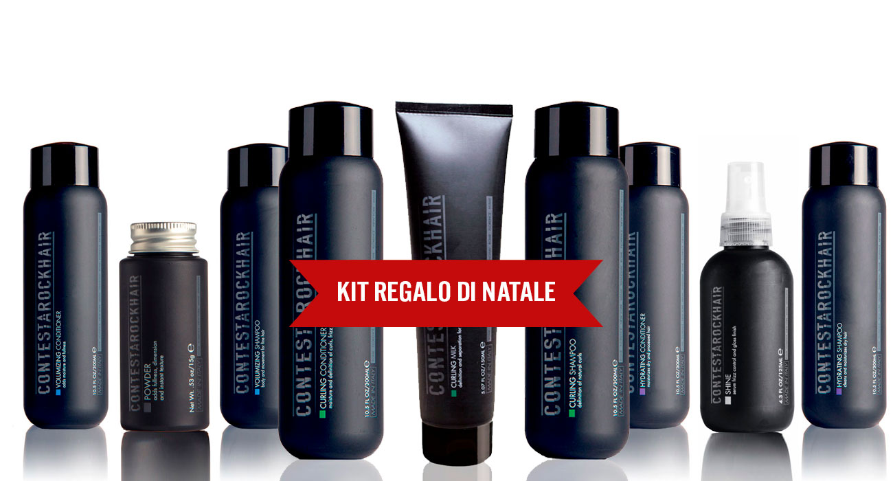 idea regalo natale: set per capelli