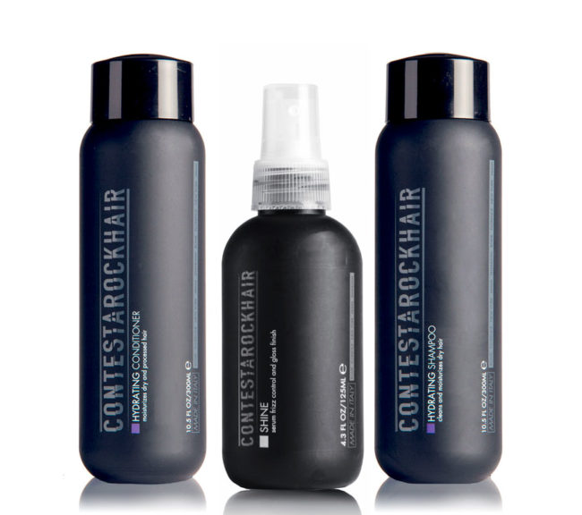 set prodotti professionali per capelli crespi e disidratati