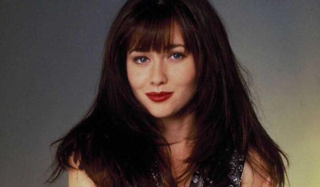 frangia Brenda Walsh di Beverly Hills 90210